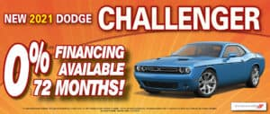 Challenger 0% financing