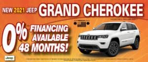 Grand Cherokee 0% financing