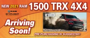 Ram TRX Arriving Soon