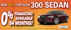 300 Sedan 0% financing