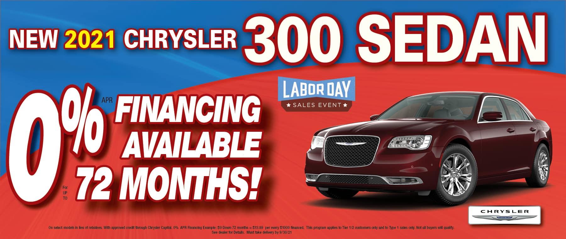 Chrysler 300 0% x 72