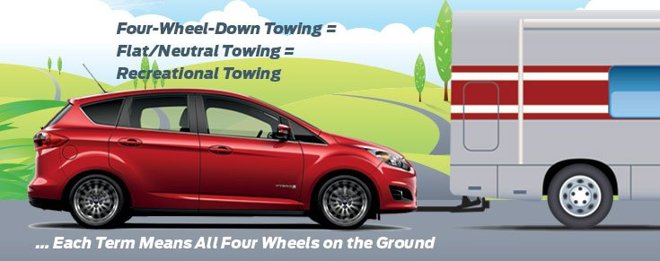 Towing 4 Wheels On The Ground Beach Automotive Group