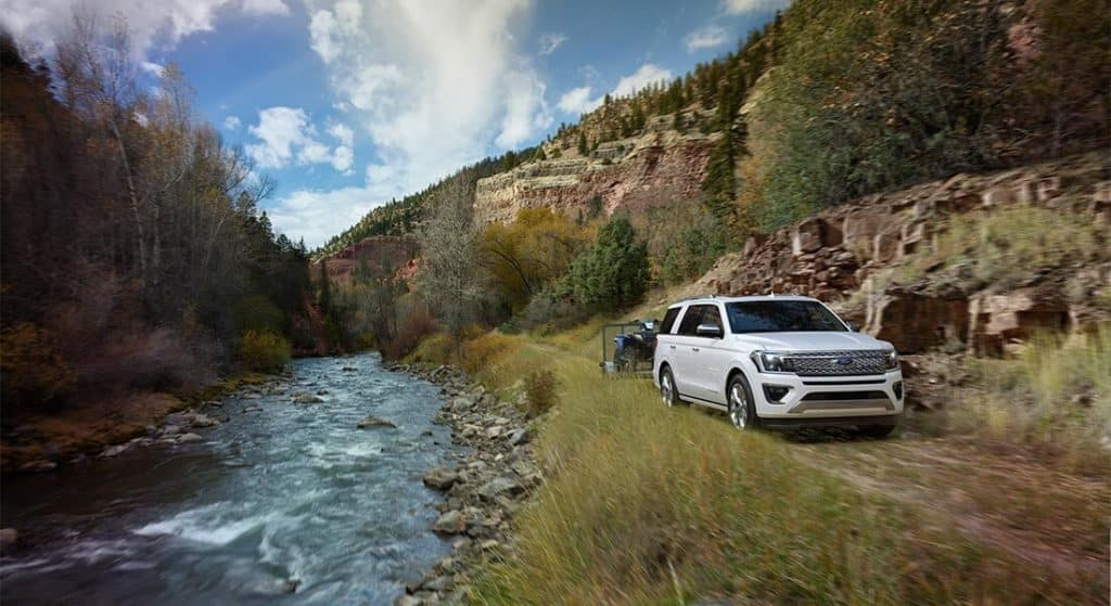 2018 Ford Expedition Platinum River Towing