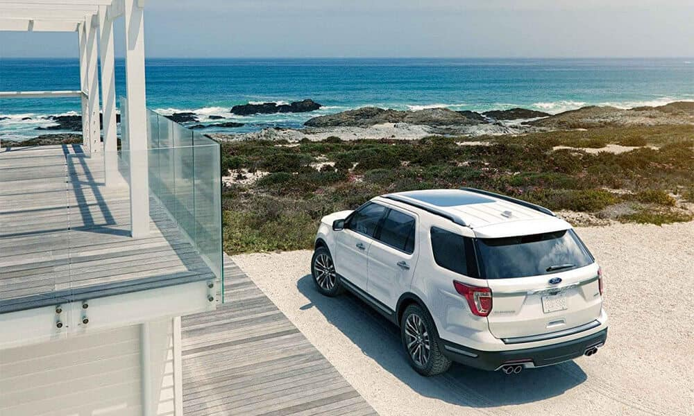 2018 Ford Explorer Beach