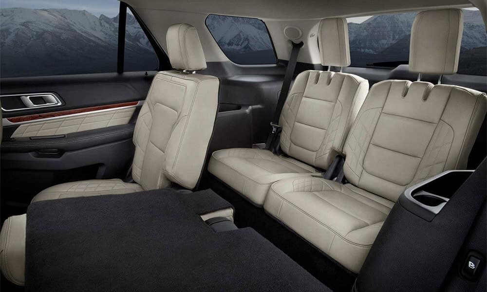 2018 Ford Explorer Rear Seats