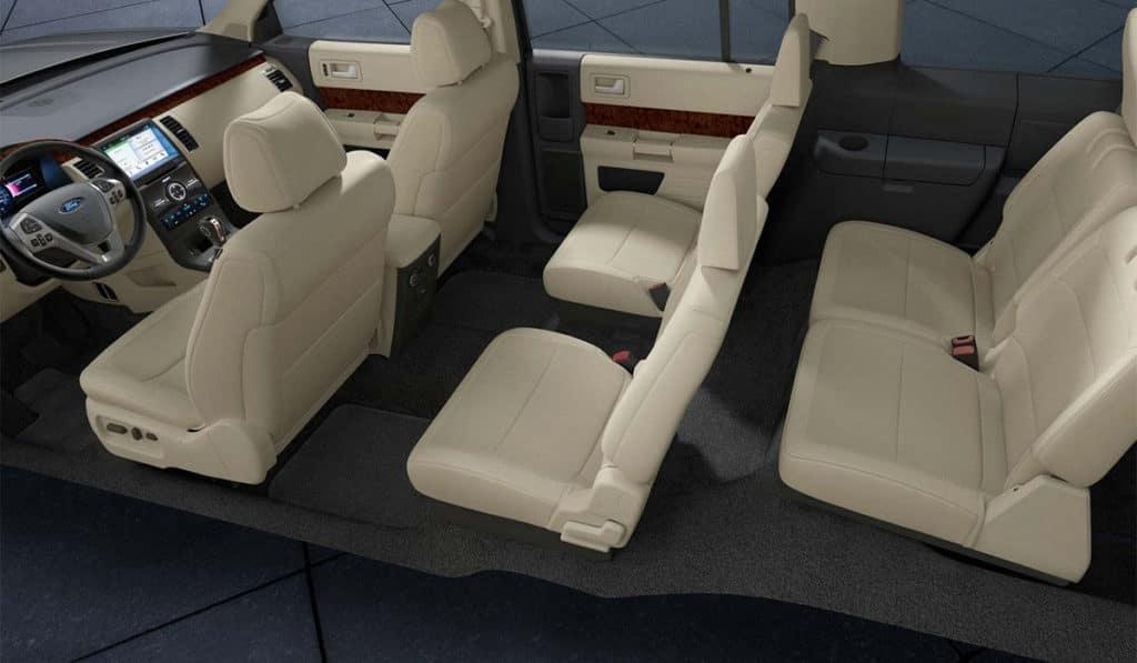 2018 Ford Flex Front Interior Cutaway