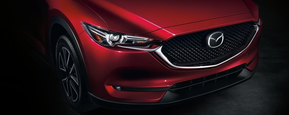 2017 Mazda CX-5 front exterior up close