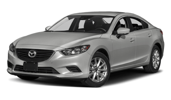 2017 Mazda6 white background