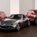 Lineup of Mazda Models