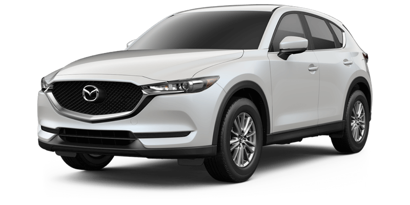 2017 Mazda CX-5 Sport white background
