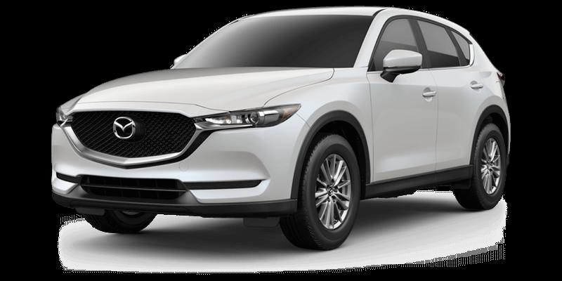 2017 Mazda CX-5 Sport white background