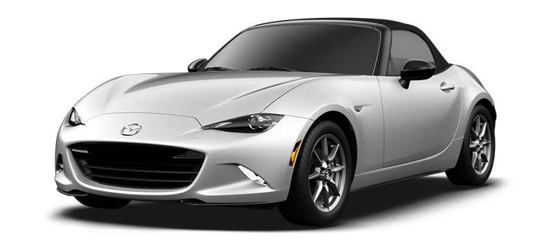 2017 Mazda MX-5 Miata Sport white background