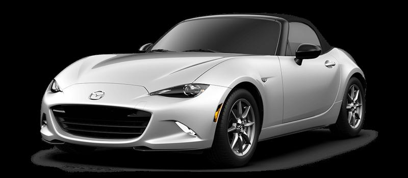 2017 Mazda MX-5 Miata Sport white background