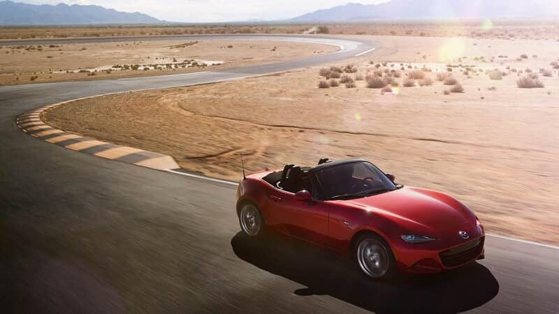 2017 Mazda MX-5 Miata red exterior model