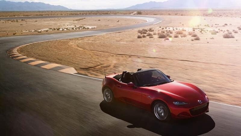2017 Mazda MX-5 Miata red exterior model