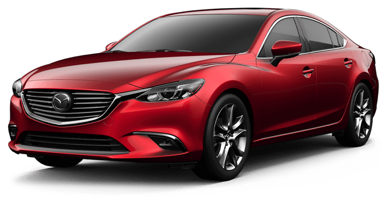 2017.5 Mazda6 Grand Touring white background