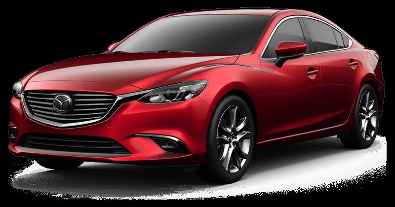 2017.5 Mazda6 Grand Touring white background