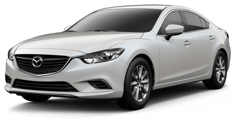 2017.5 Mazda6 Sport white background