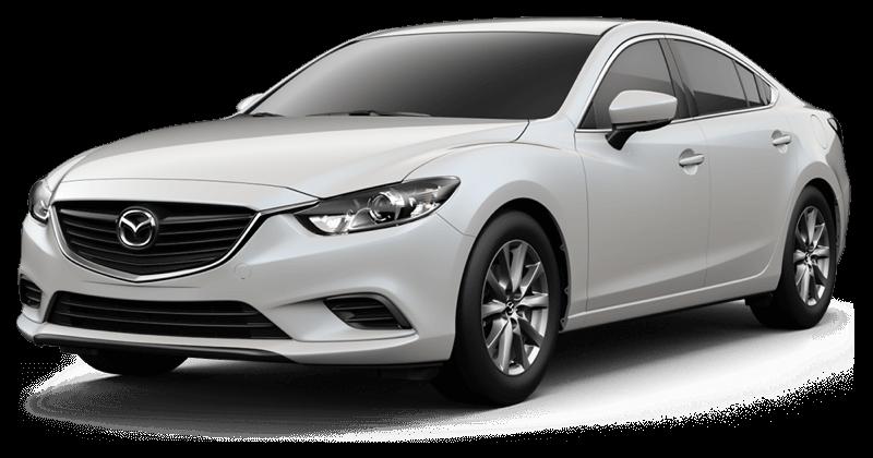 2017.5 Mazda6 Sport white background