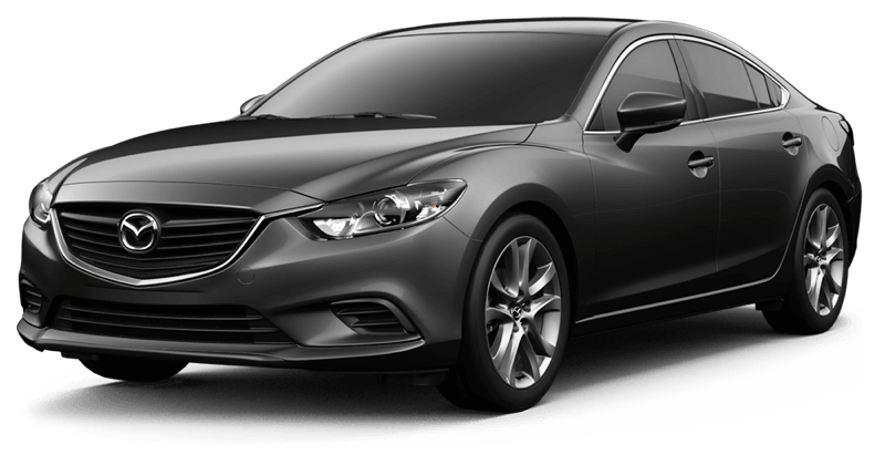 2017.5 Mazda6 Touring white background