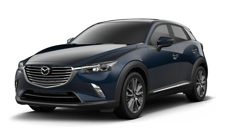 2018 Mazda CX-3 Grand Touring white background