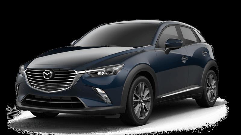 2018 Mazda CX-3 Grand Touring white background
