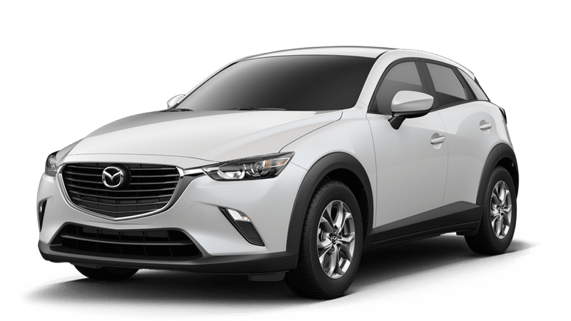 2018 Mazda CX-3 Sport white background