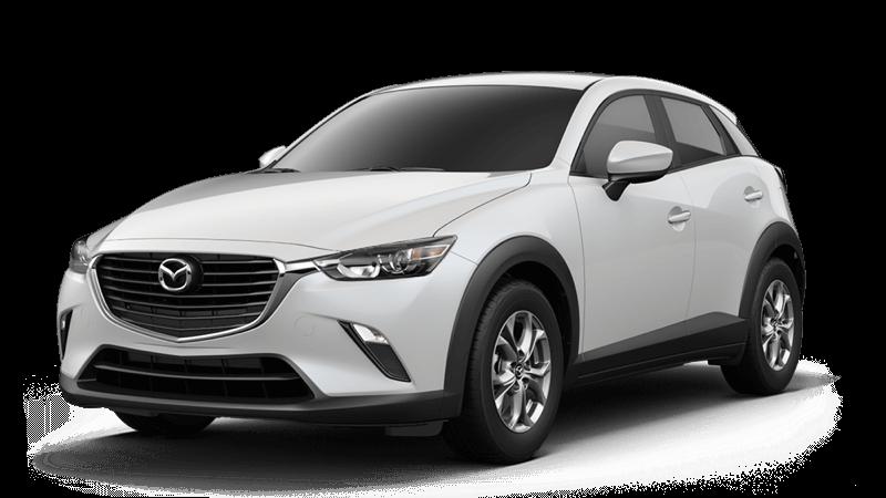 2018 Mazda CX-3 Sport white background