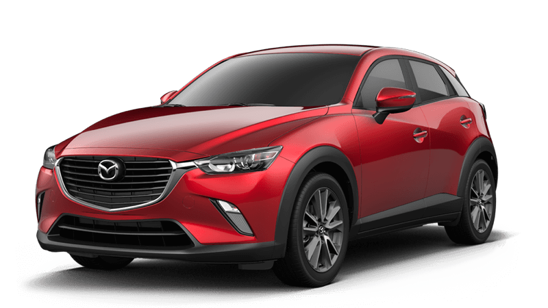 2018 Mazda CX-3 Touring white background