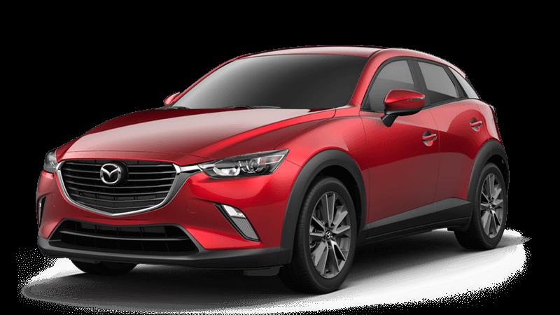 2018 Mazda CX-3 Touring white background