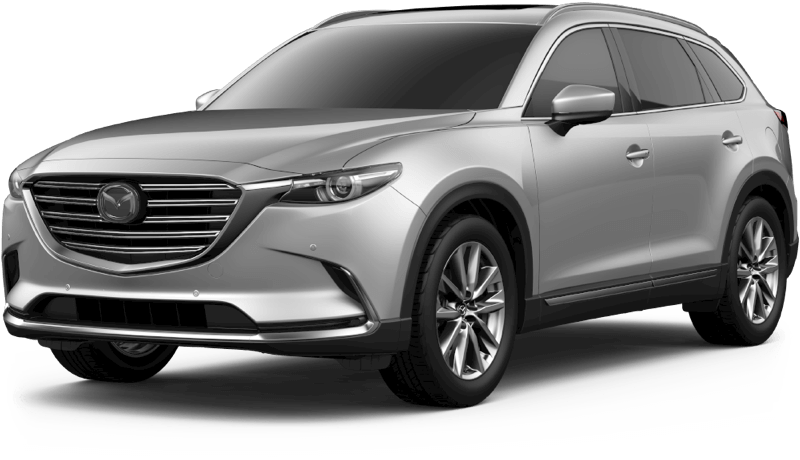 2018 Mazda CX-9 Grand Touring white background