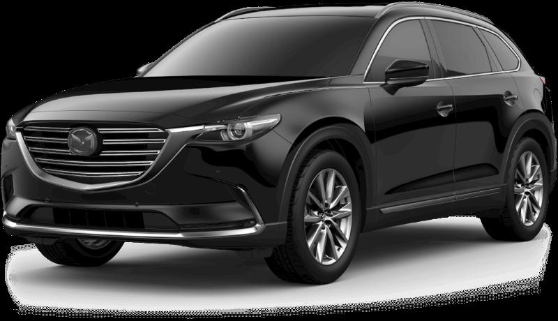 2018 Mazda CX-9 Signature white background