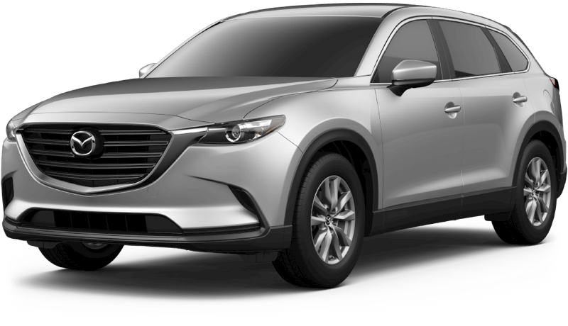2018 Mazda CX-9 Sport white background