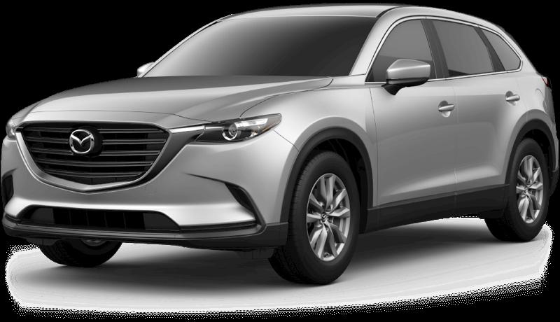 2018 Mazda CX-9 Sport white background