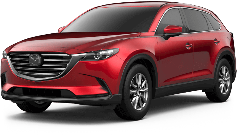 2018 Mazda CX-9 Touring white background