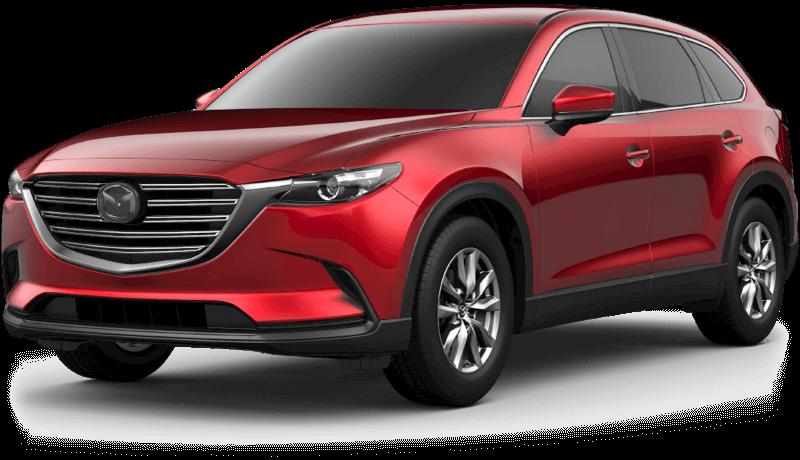 2018 Mazda CX-9 Touring white background