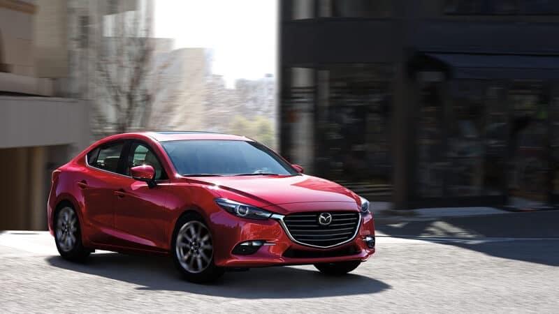 2018 Mazda3 Red Exterior Model