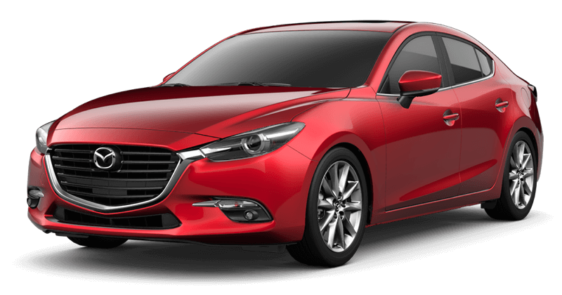 2018 Mazda3 Grand Touring white background