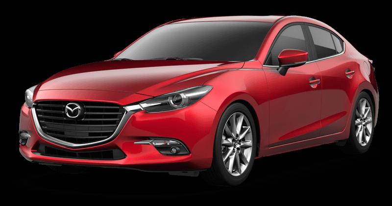2018 Mazda3 Grand Touring white background
