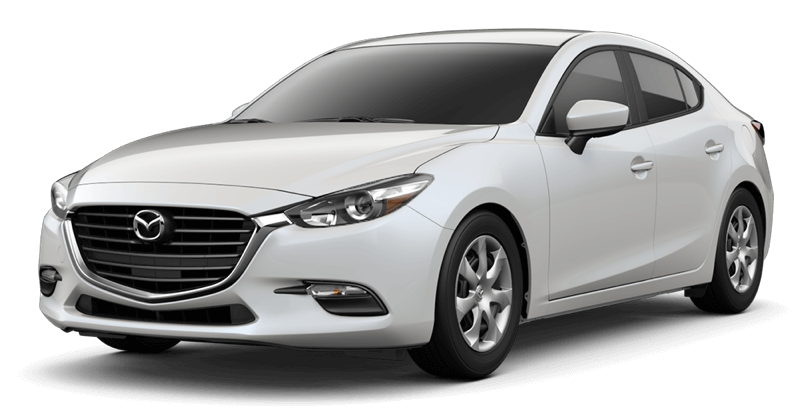 2018 Mazda3 Sport white background