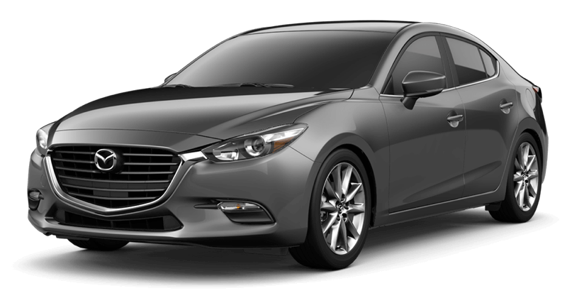2018 Mazda3 Touring white background