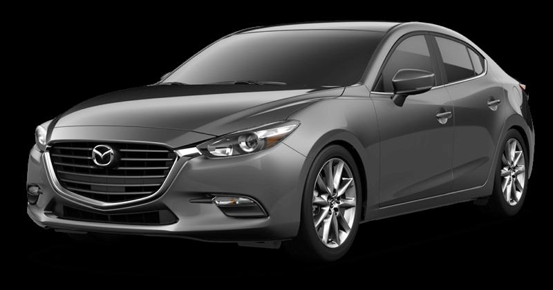 2018 Mazda3 Touring white background