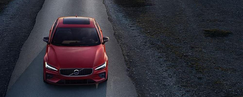 2020 Volvo S60 on road