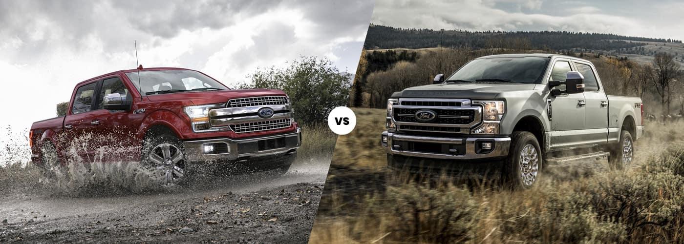 2020 Ford F-150 vs. 2020 Ford Super Duty