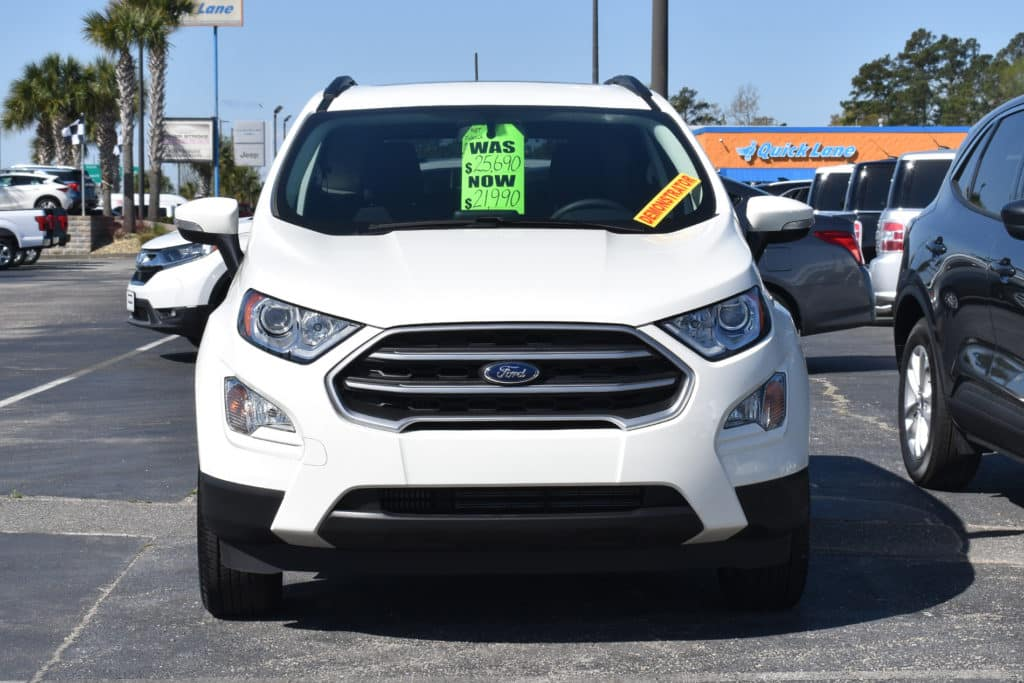 New 2021 Ford EcoSport SE FWD 4D Sport Utility