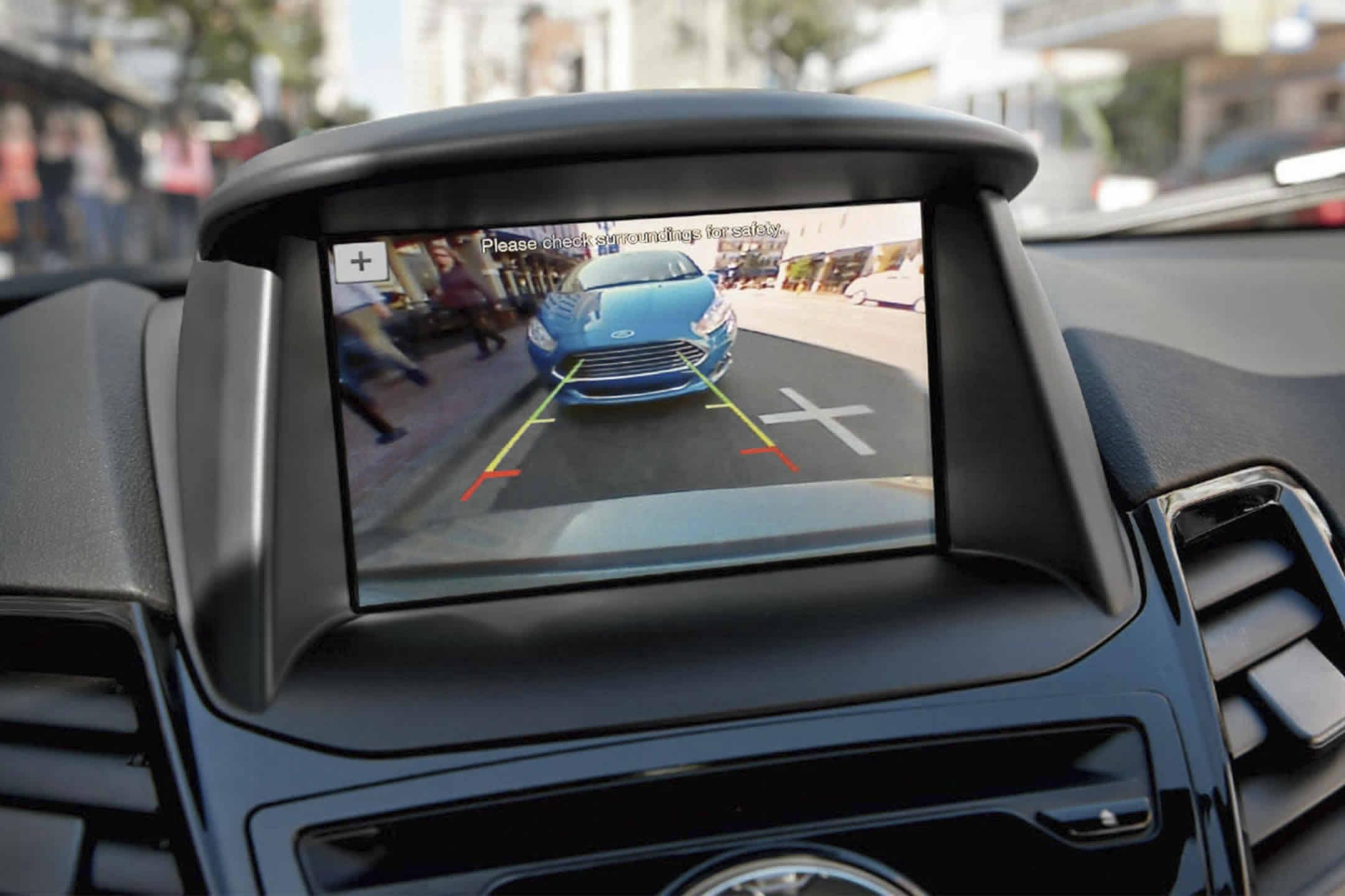 2017 Ford Fiesta Rearview Camera Beach Buick Verano Rear View