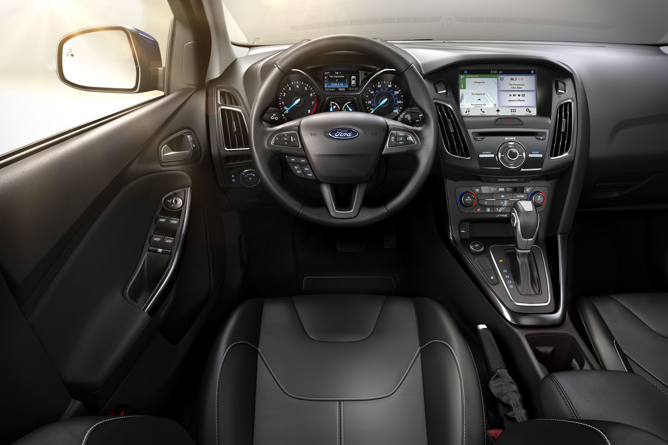 2017 Ford Focus Front Interior Beach Ford