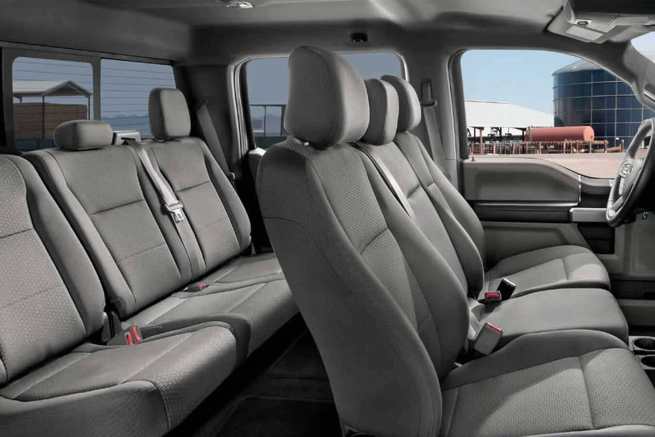 2017 Ford F-150 XLT Interior | Beach Ford