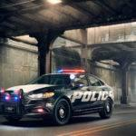 Ford Police Responder Hybrid Sedan Concept