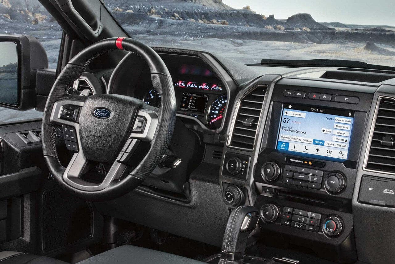 2018 Ford F-150 Raptor Interior Dash